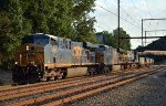 CSX ES40DC 5485 leads Q034-06